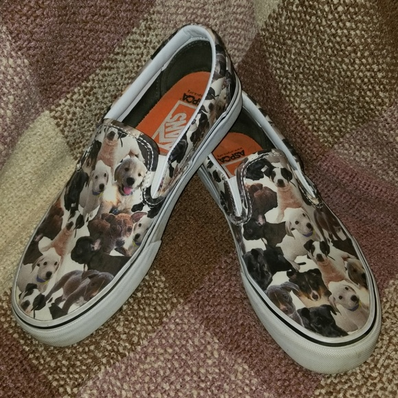 ac819f1b27 Vans Shoes - Vans Slip-On ASPCA Dog Edition 🐶